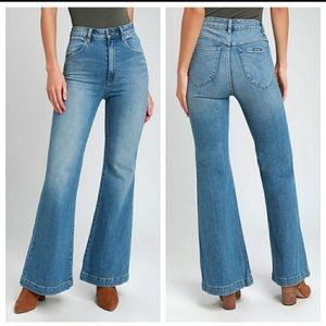 NWT ROLLA'S High Rise East Coast Flare Jeans